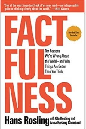 """Il libro """"Factfulness"""" di Hans Rosling"""